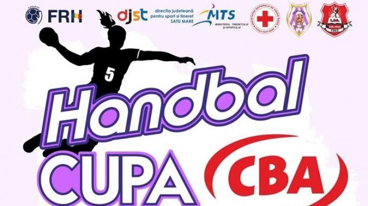 Handbal | Cupa CBA, ediția a V-a, sâmbătă, 1 iunie