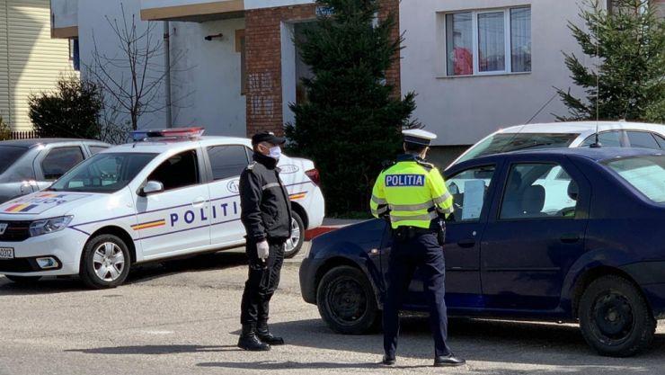 În ultimele 24 ore, polițiștii sătmăreni au aplicat 215 sancțiuni contravenționale