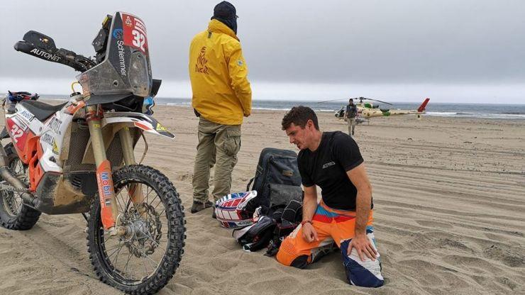 """Emanuel Gyenes a abandonat la #Dakar2019: """"Voi reveni anul viitor mult mai puternic şi mai motivat"""""""