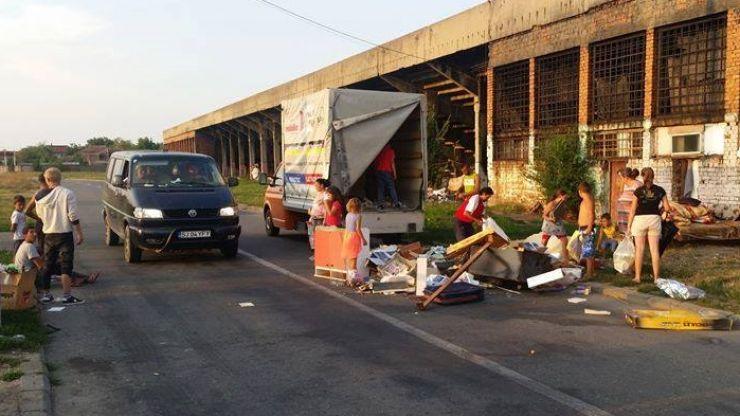 Sătmărean amendat, după ce a fost prins descărcând gunoaie dintr-un camion în zona stadionului Unio