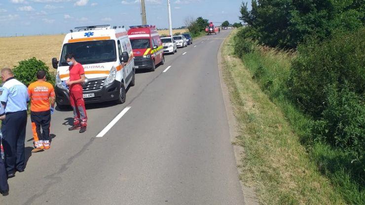 Accident cu victimă în Foieni. A fost solicitat un elicopter SMURD