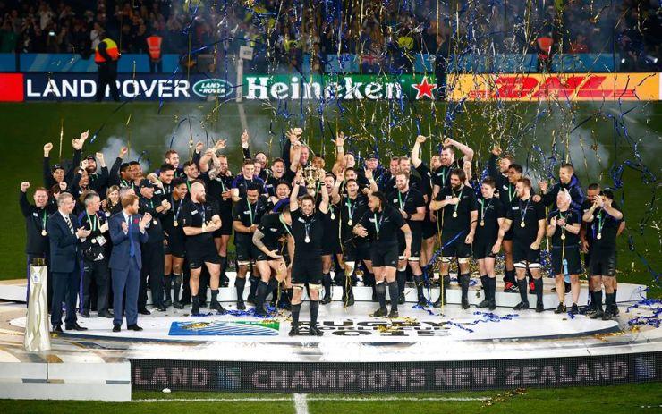 Rugby. Noua Zeelandă a câştigat Cupa Mondială la rugby