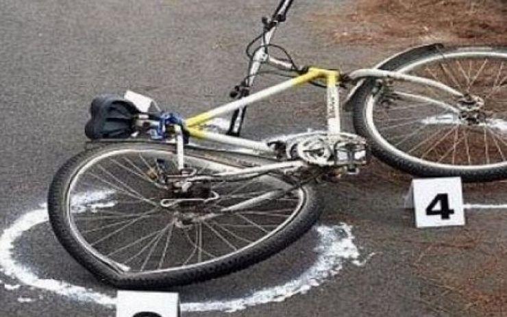 Accident rutier provocat de un biciclist de 88 de ani