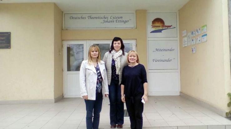 Trei profesori din Slovacia, în vizită la Liceul German