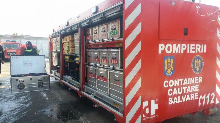 Echipament nou de căutare-salvare, în dotarea pompierilor sătmăreni