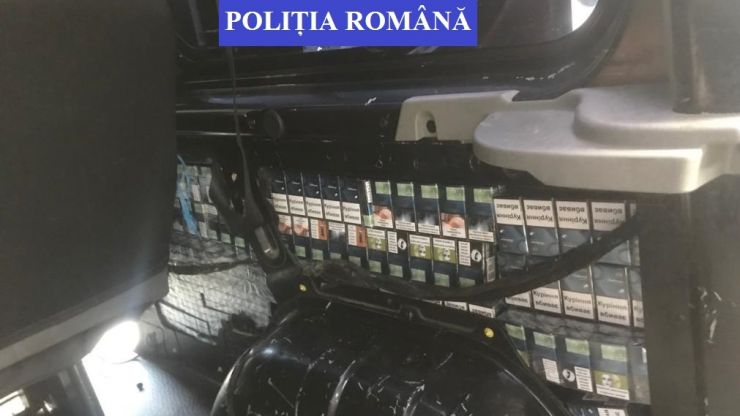 Sătmărean reținut pentru contrabandă cu țigări