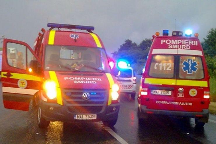 Accident rutier soldat cu un mort și 4 răniți, la Negrești