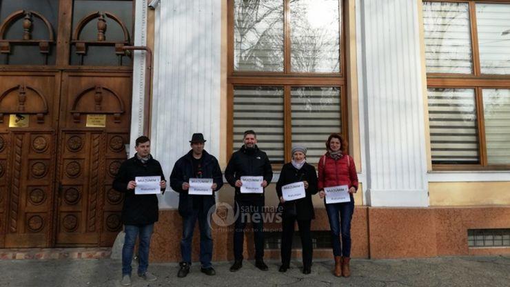 Magistrații sătmăreni nu au protestat azi față de modificarea Legilor Justiției