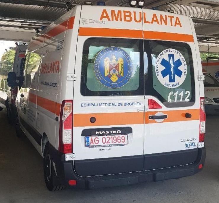 Ambulanțe noi pentru Serviciul de Ambulanță Județean Satu Mare.