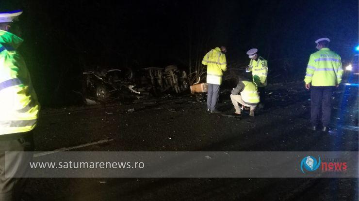 Concluziile polițiștilor în cazul accidentului mortal dintre Livada și Orașu Nou