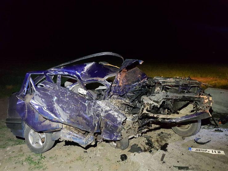 Accident grav între Acâș și Mihăieni (foto)
