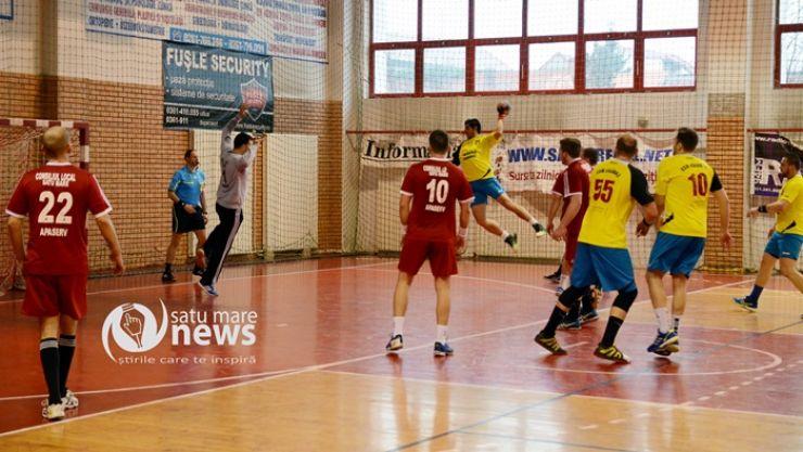 Handbal | CSM Satu Mare 25-26 CSM Făgăraș (8-10)