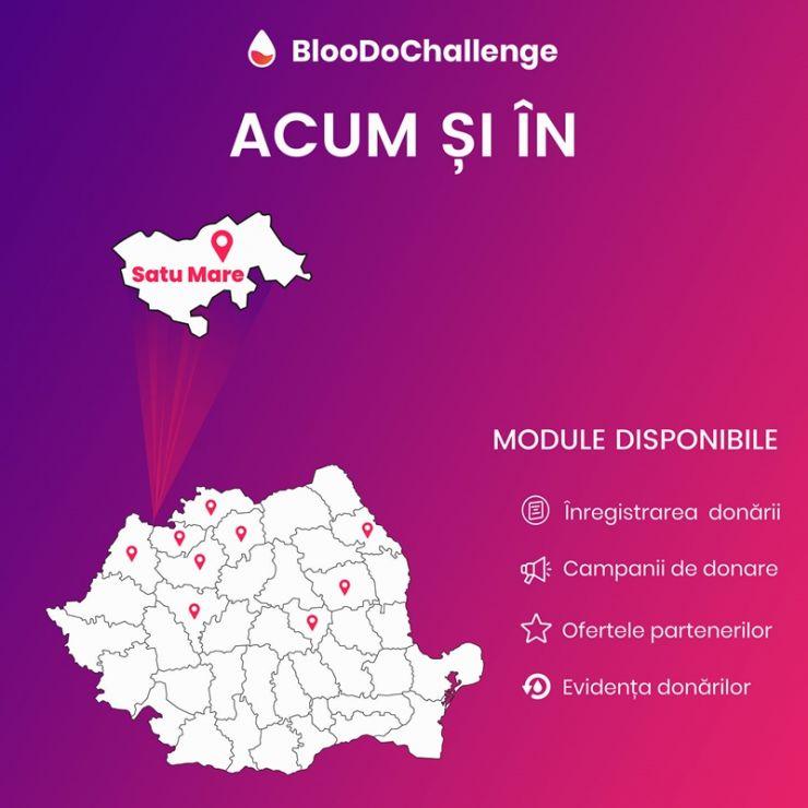 Aplicație mobilă destinată donării de sânge, disponibilă și la Satu Mare. Donează sânge ușor și rapid în 4 pași simpli