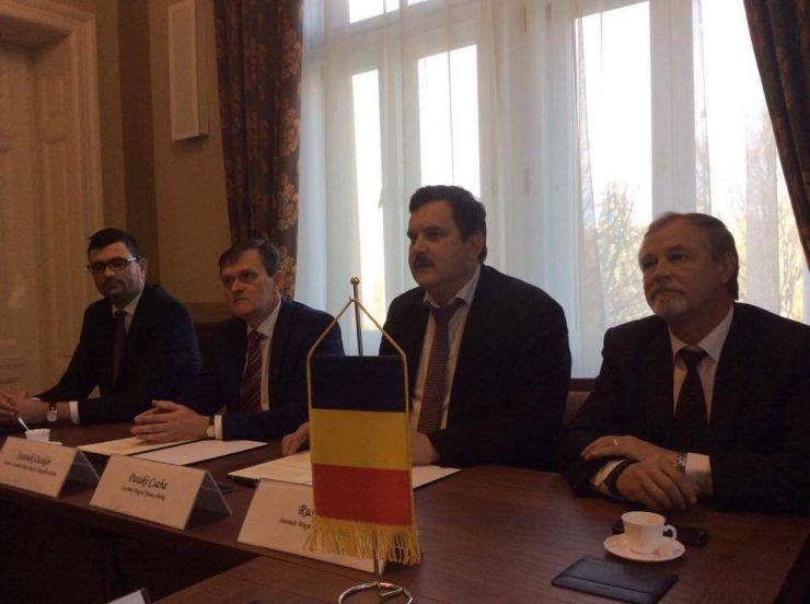 Protocol de colaborare și de înfrățire semnat azi între Consiliul Județean Satu Mare și județul Szatmar Bereg, la Nyíregyháza