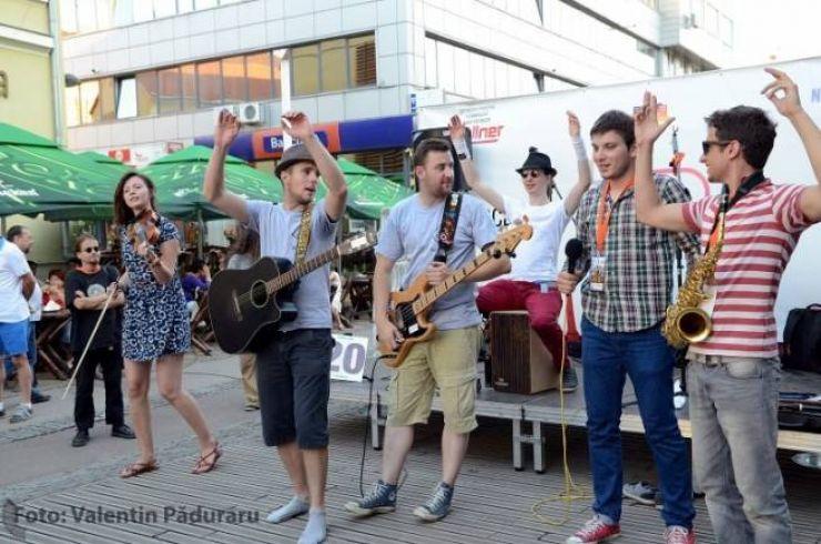 Festivalul Muzicii de Stradă debutează azi