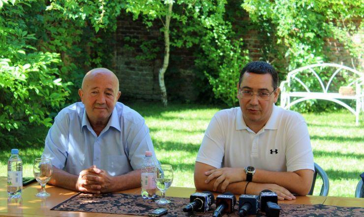 Victor Ponta și-a lansat la Satu Mare noul partid, Pro România, alături de Dorel Coica