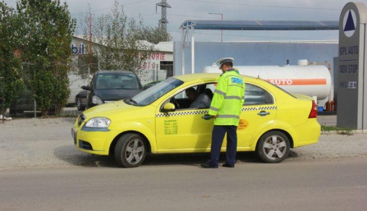 Taximetriștii din Satu Mare, ținta polițiștilor de la Rutieră