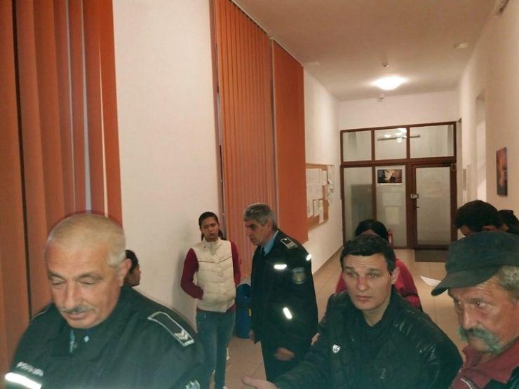 Polițiștii și jandarmii au descins pe strada Horea