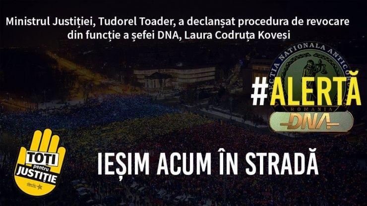 Protest | Satu Mare susține lupta împotriva corupției