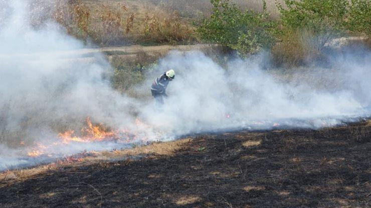 FOTO | Incendii de proporții în județ