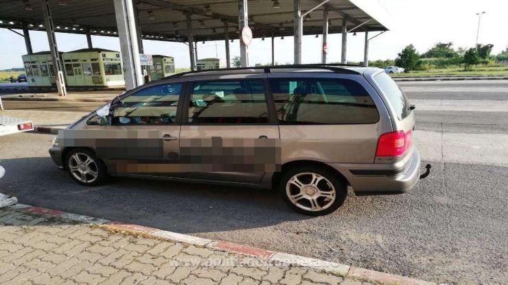 Mașină furată din străinătate, descoperită în PTF Petea
