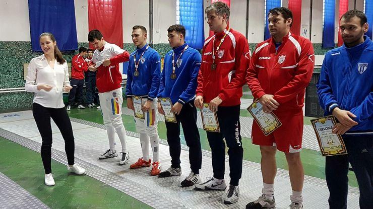 Adrian Szilagyi, campion național la spadă
