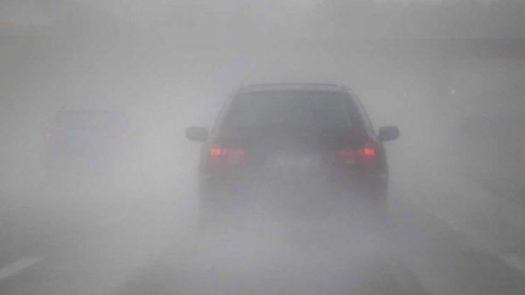 Cod galben de ceață. Vizibilitate extrem de scăzută în județul Satu Mare
