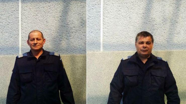 Doi jandarmi sătmăreni au salvat de la moarte un bărbat