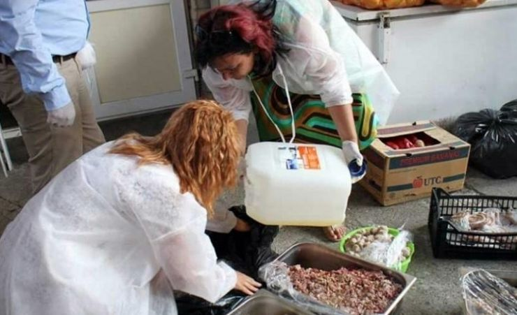 Inspectorii DSVSA au confiscat peste 100 de kilograme de carne