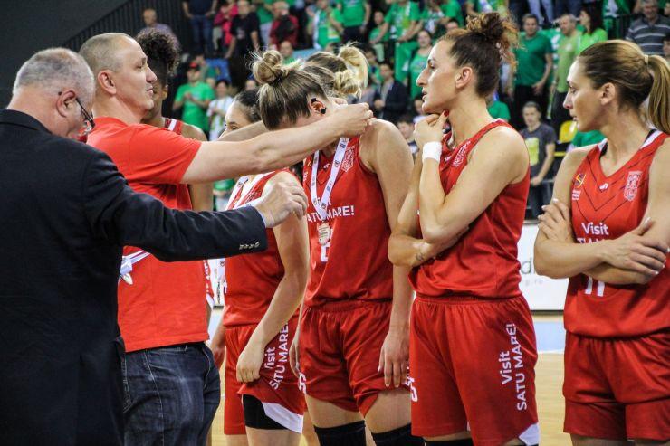 Baschet | CSM Satu Mare, învinsă de Sepsi în jocul decisiv al finalei LNBF