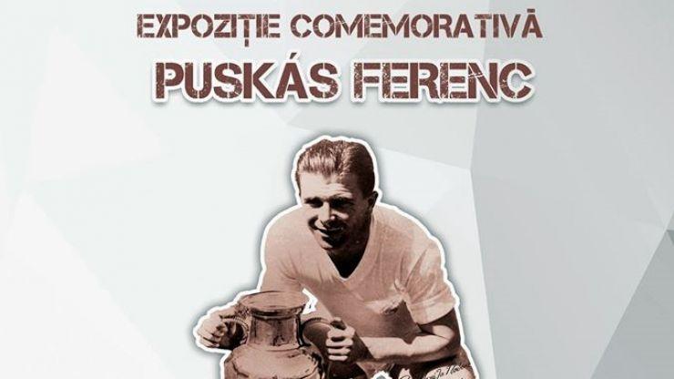 Expoziție comemorativă dedicată marelui fotbalist Ferenc Puskás, la Muzeul de Artă