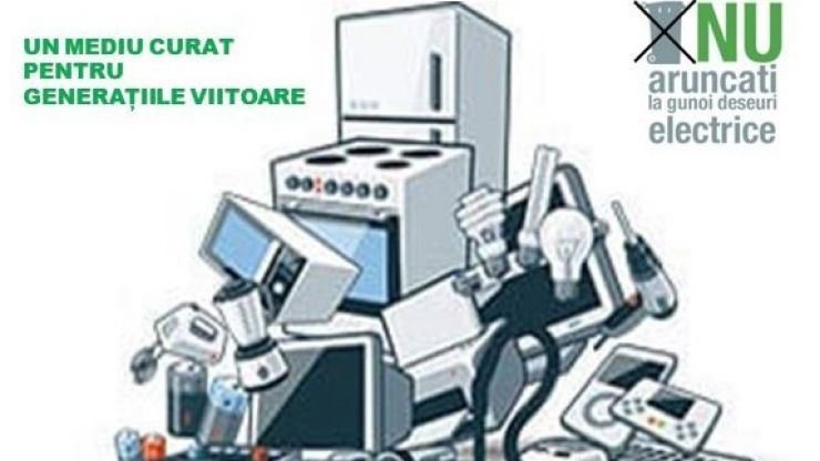 O nouă campanie de colectare a deșeurilor electrice și electronice la Satu Mare