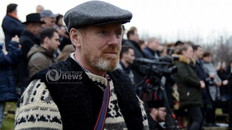 """Irlandezul Peter Hurley, îndrăgostit de Țara Oașului: """"Este ceva fabulos, nu vezi așa ceva nicăieri în Europa"""""""