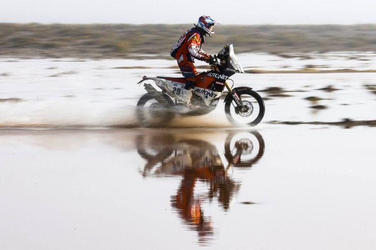 Dakar 2017 | Etapa a noua, anulată din cauza unei alunecări masive de teren
