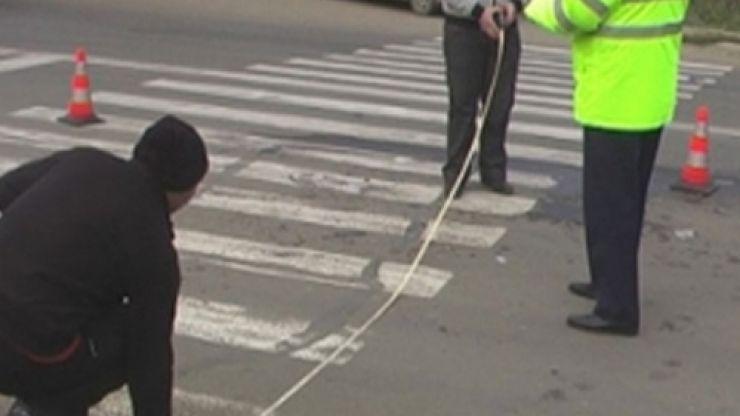 Minoră lovită pe o trecere de pietoni de pe strada Careiului