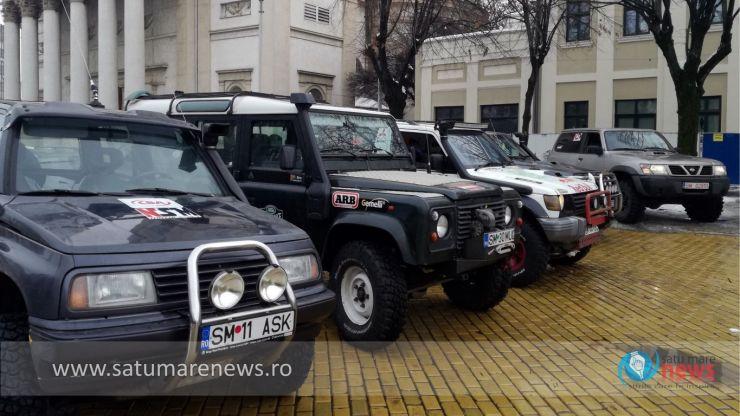 FOTO. Echipa NSM Motor Sport a dat startul cursei lui Moș Crăciun