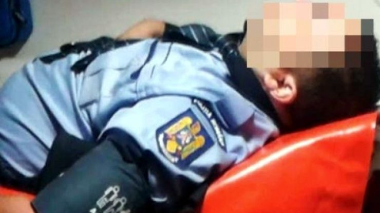 Poliţist agresat la Cămărzana, în timp ce încerca să aplaneze un conflict