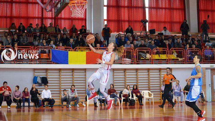 Baschet | Etapa 6 | CSM Satu Mare 83 - 69 CSTBv Olimpia Brașov