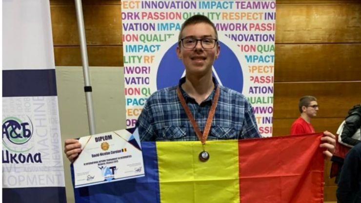 Rezultate fără precedent în domeniul învățământului informatic sătmărean obținute de olimpicul David Coroian