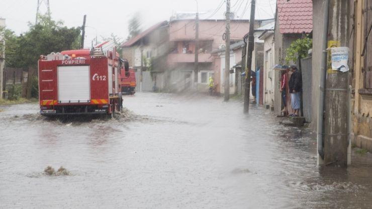 Risc de inundații în județul Satu Mare