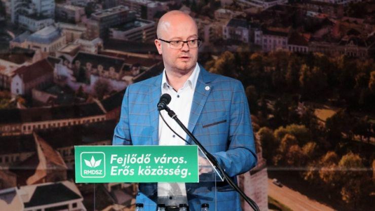 Gábor Kereskényi a fost reales președinte al organizației municipale Satu Mare a UDMR