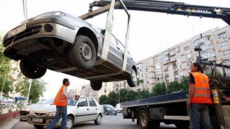 Mașinile parcate ilegal vor fi ridicate