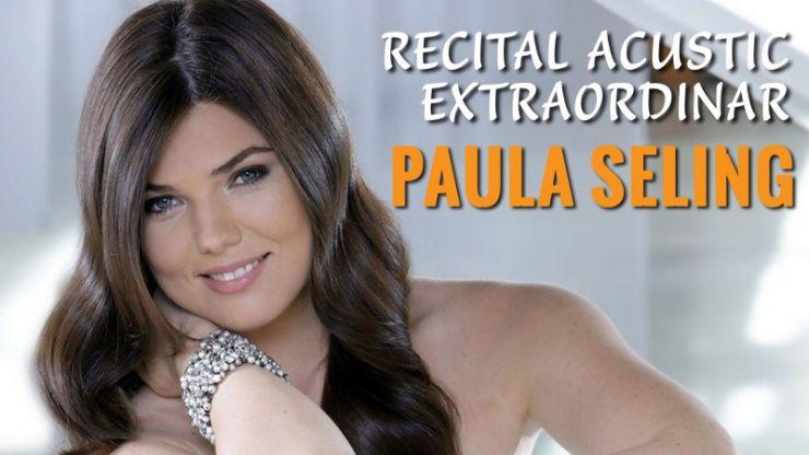 Paula Seling va susține un recital la Teatrul din Carei