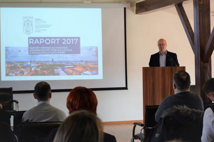 Primarul Kereskenyi față în față cu principalii contribuabili la bugetul local