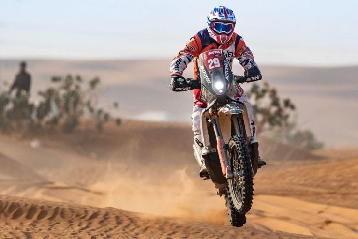 Dakar 2021 | Emanuel Gyenes a încheiat ziua 5 pe locul 33