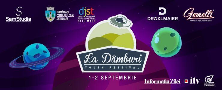 Festivalul La Dâmburi 2017. Printre invitații speciali se numără Macanache, DJ Sauce, Cred Că Sunt Extraterestru