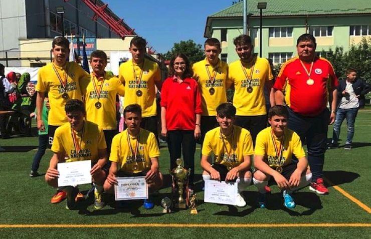 Echipa LPS Satu Mare a câștigat Campionatul Național Școlar de fotbal