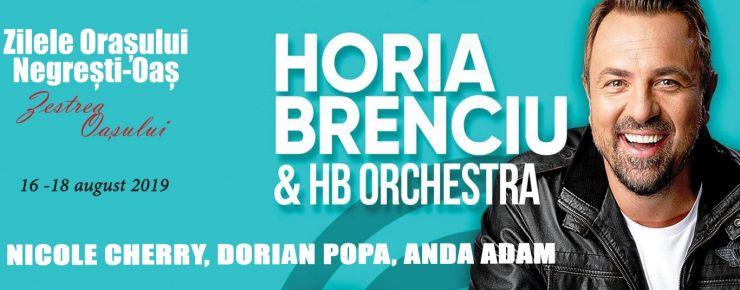 Horia Brenciu&HB Orchestra, Anda Adam, Nicole Cherry și Dorian Popa vor urca pe scena Zestrea Oașului