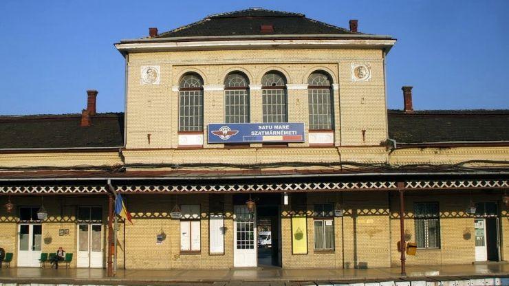 Gara din Satu Mare a intrat în reabilitare