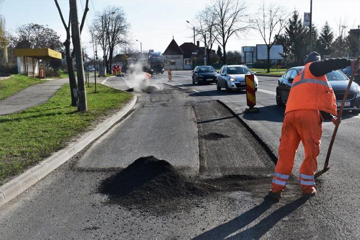 Încep plombările pe două bulevarde și două străzi din municipiul Satu Mare